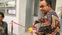 Anies Resmikan Gardu Listrik MRT di Jakarta Selatan