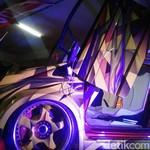 Modifikasi Terbaik Bali Milik Honda Jazz Ini