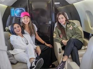 Tajir! Demi Makan Bakso, Maia Estianty ke Malang dengan Private Jet