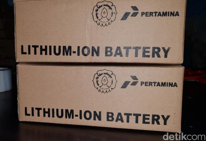 Baterai Motor Listrik Buatan Pertamina-UNS