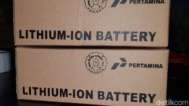 Baterai ion lithium Pertamina-UNS