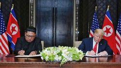 Trump Beberkan Isi Surat Kim Jong-Un Untuknya