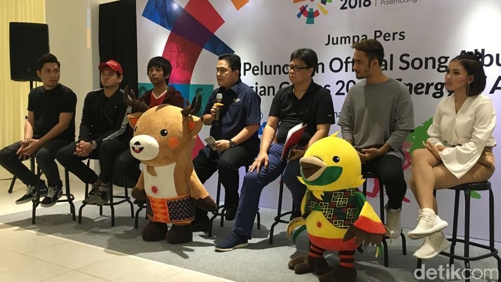 INASGOC Luncurkan Album Asian Games 2018