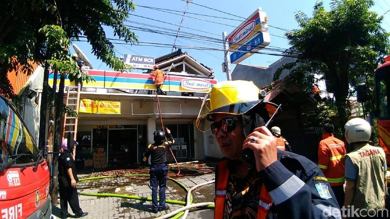 Sehari, Kebakaran di Kota Surabaya Terjadi di Empat Titik