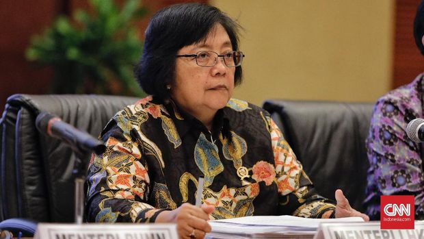 Defendant II, Minister of Forestry for the environment, Siti Nurbaya Bakar.