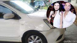 Stevie Tabrak Mobil Suami Sendiri karena Dimadu, Warga Sempat Nonton?