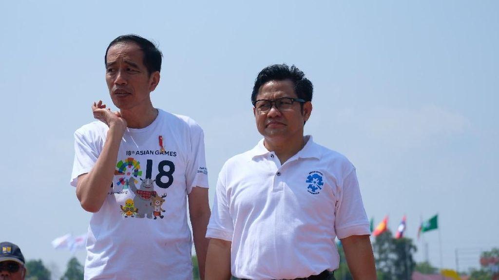 Resmi Dukung Jokowi, Cak Imin Harap Jadi Cawapres
