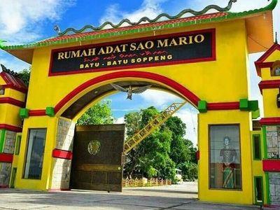 Rumah Adat Sao Mario yang Unik di Sulawesi Selatan