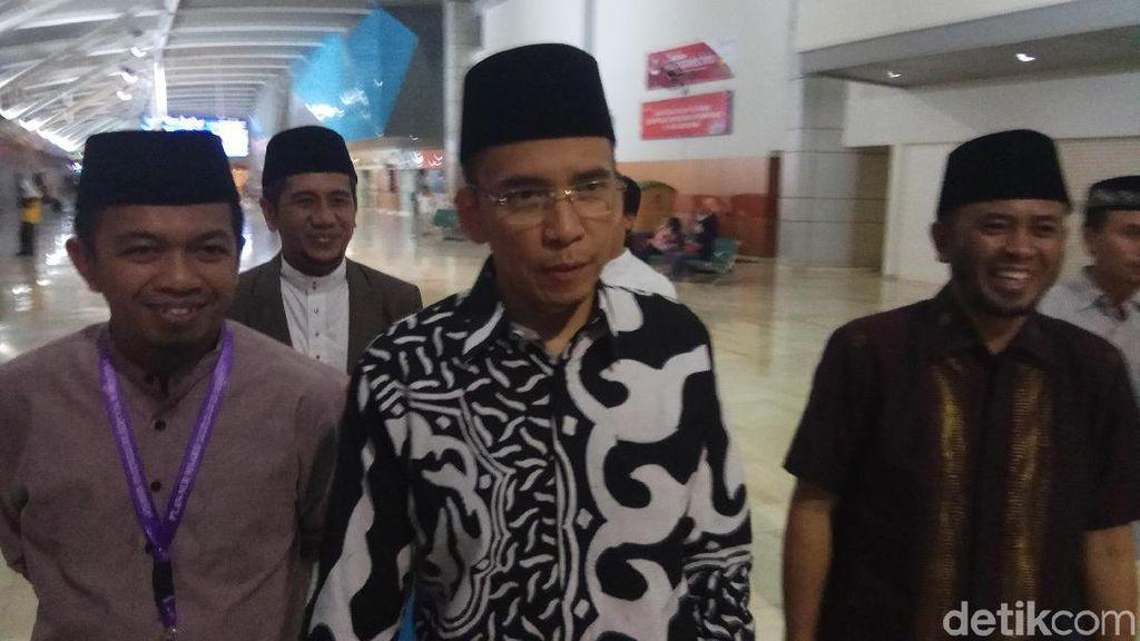 Soal Peluang Jadi Cawapres Jokowi, TGB: Wallahualam