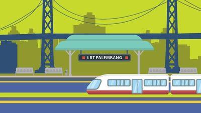 LRT Pertama RI Siap Beroperasi
