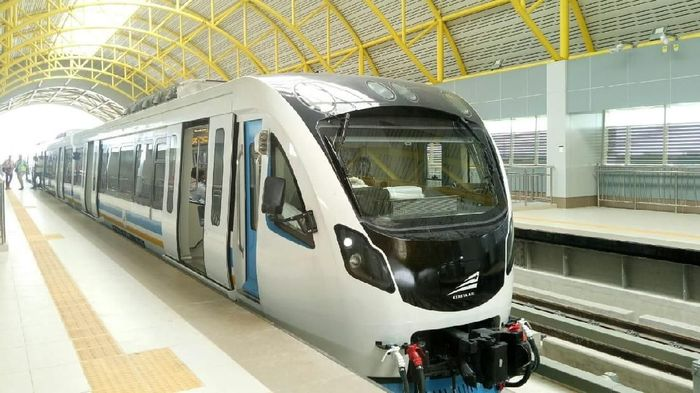 LRT Palembang Mogok