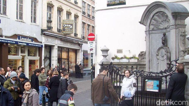 Foto: Menurut situs Post Office Travel Money, Kota Brussels di Belgia merupakan kota termurah keenam untuk pecinta seni. Total biaya untuk berkunjung ke museum, galeri seni dan opera adalah sekitar 164 Poundsterling (Rp 3,1 juta) (Fitraya/detikTravel)
