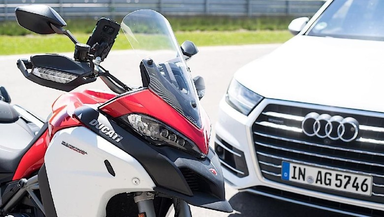 Ducati Multistrada 1200 Enduro Foto: Pool (Autoevolution)