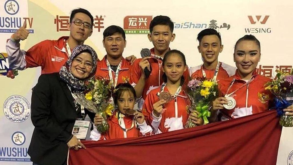 Usai Zohri, Giliran Tim Junior Wushu Kumandangkan Indonesia Raya di Brasil