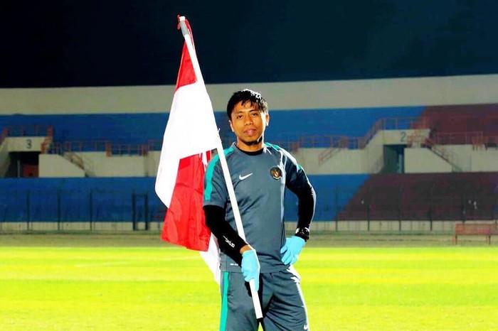 Ifran memulai karir sebagai petugas medis sepakbola saat di Makassar. Foto: Instagram/ifranakhmad