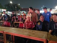 Nobar Piala Dunia Bareng PJLP DKI, Sandiaga Dukung Inggris