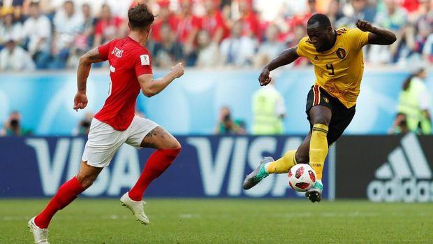Romelu Lukaku mencetak empat gol di Piala Dunia 2018.