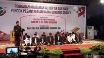 Presiden Jokowi Hadiri Khataman dan Haul Ponpes An-Najah Sragen