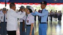 Menhan Lantik 361 Siswa Baru SMA Taruna Nusantara Magelang