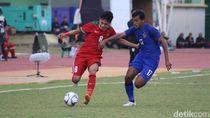 Babak I: Indonesia Ungguli Thailand 1-0