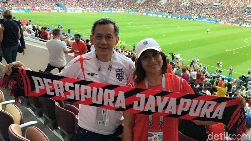 Jauh-jauh dari Jayapura, Fans Inggris Ini Patah Hati di Rusia