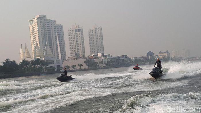 Tim jetski Indonesia akan dikirim kembali ke Amerika Serikat untuk latihan. (Foto: Mercy Raya/detikSport)