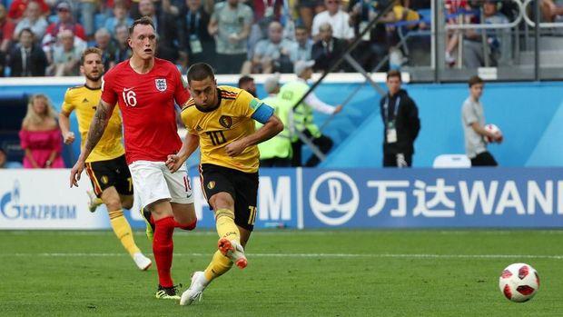 Belgia menang mudah atas Inggris di perebutan peringkat ketiga Piala Dunia 2018.