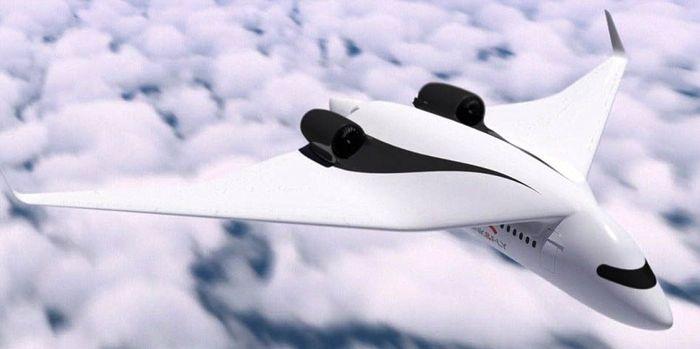 Konsep kereta terbang ini sayapnya bisa dilepas, sehingga memungkinkan pesawat menurunkan penumpang di stasiun dan melanjutkan perjalanan. Istimewa/Dailymail.
