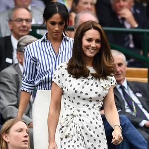 Kata Pakar Bahasa Tubuh Soal Ketidakuran Kate Middleton & Meghan Markle