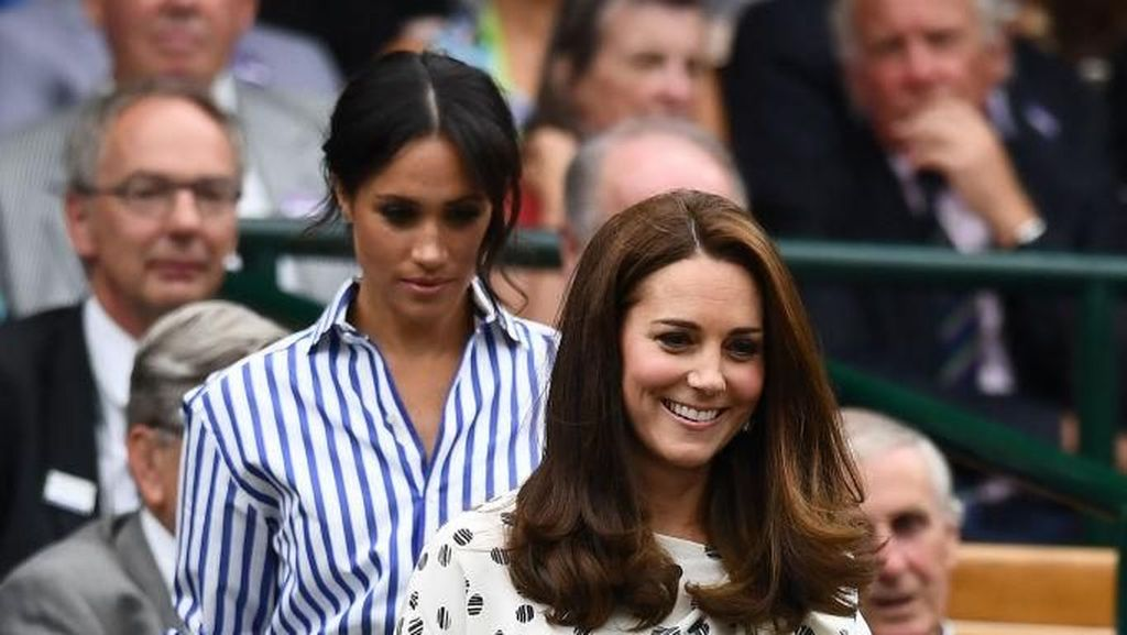 Adu Gaya Kate Middleton Vs Meghan Markle di Wimbledon, Siapa Lebih Stylish?