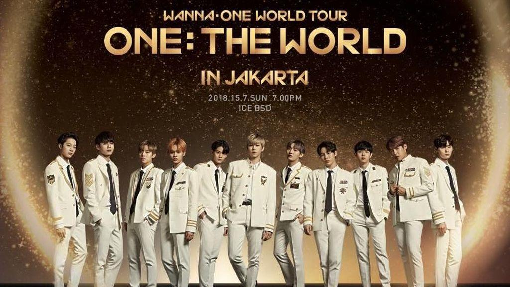 Burn It Up Jadi Lagu Pembuka Konser Wanna One Jakarta