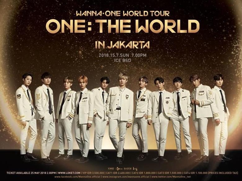 Janji Manis Wanna One Bakal Kembali Sapa Indonesia