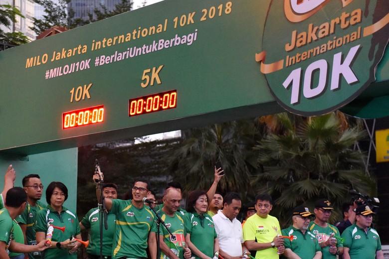 David Kibet Juara Jakarta 10 K