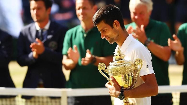 Sumber Semangat Novak Djokovic Menangkan Wimbledon 2018/ Foto: Matthew Stockman/Getty Images