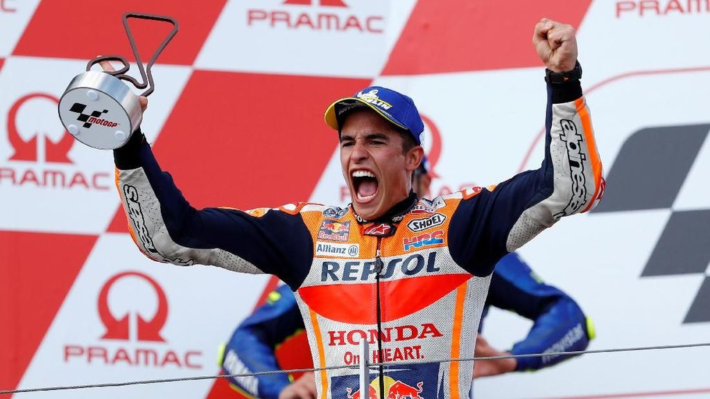 Video: Marc Marquez Masih jadi Raja Sachsenring