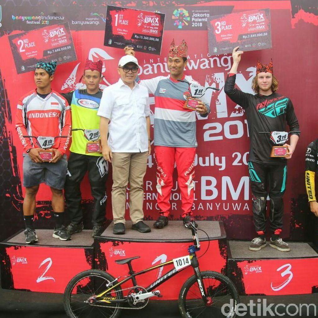 Dua Pebalap Indonesia Juarai International BMX Competition 2018