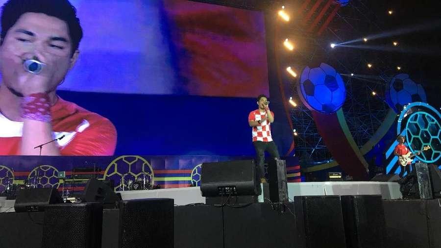Konser Piala Dunia 2018 Digelar Meriah