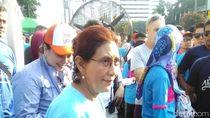 Susi Pudjiastuti hingga Kaka Slank Hadir di Car Free Day Jakarta