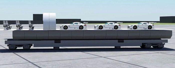 Akka Technologies telah meluncurkan desain pesawat tersebut yang diberi nama Link & Fly. Namun, produkasli belum diproduksi. Istimewa/Dailymail.