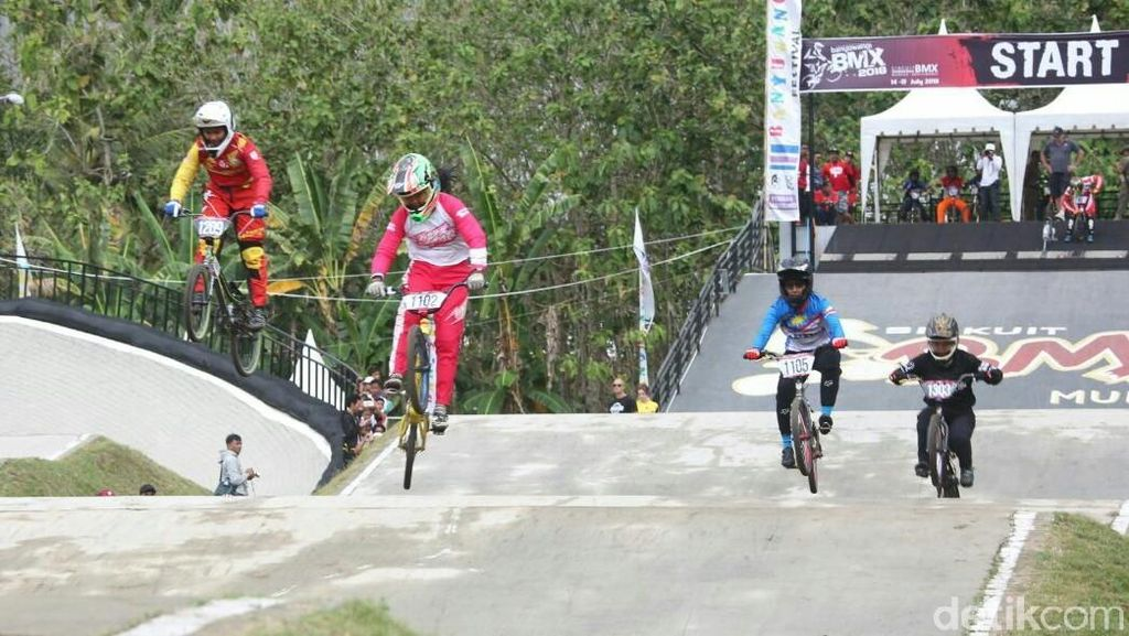 Juarai International BMX, Wiji  Jadi Harapan Baru di Asian Games 2018