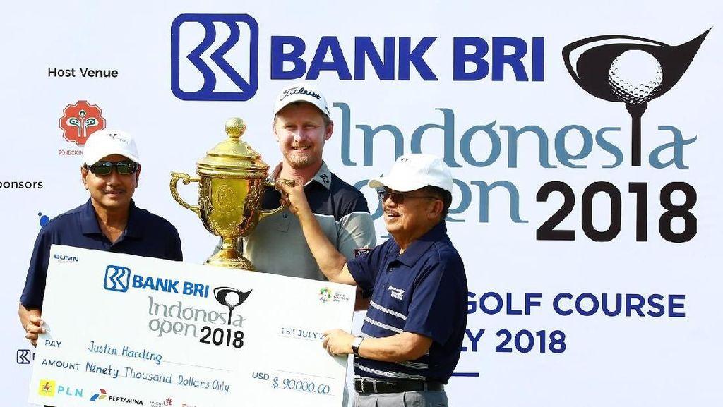 Indonesia Open Jadi Ajang Pemanasan Pegolf Jelang Asian Games