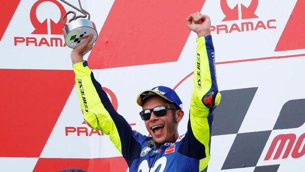 Valentino Rossi belum merasakan berdiri di podium MotoGP Austria.