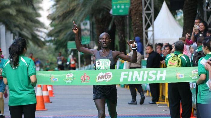 David Kibet, pelari Kenya juara Jakarta 10 K. (dok. Image Dynamic)
