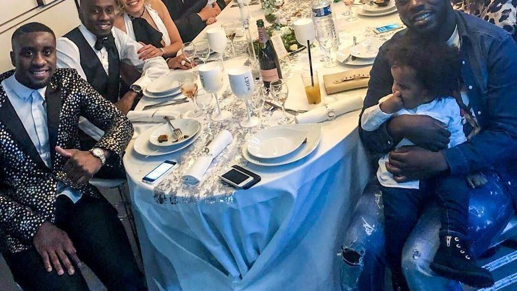 Serunya Acara Makan Jagoan Prancis, Blaise Matuidi hingga Menu Makan Selebgram Bidadari