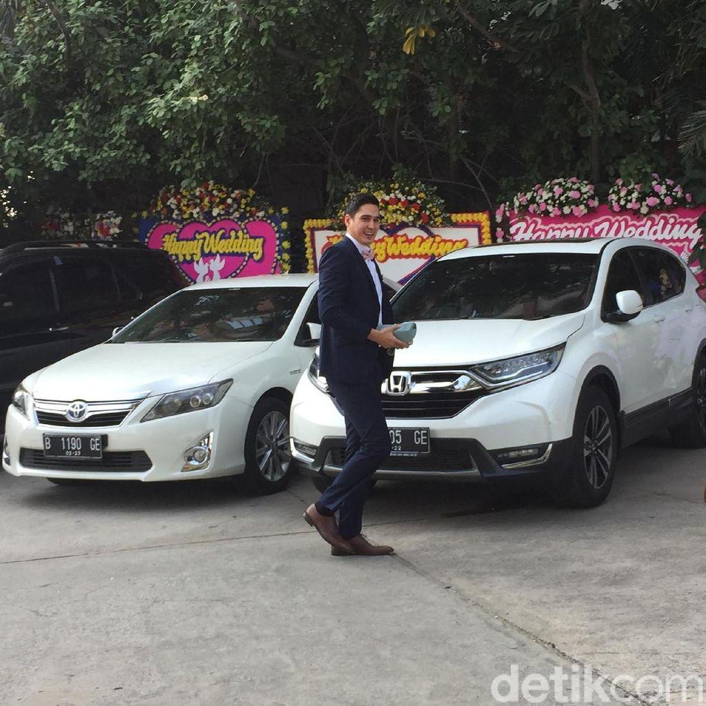 Sapaan Marcel Chandrawinata Jelang Resepsi Nadine dan Dimas Anggara