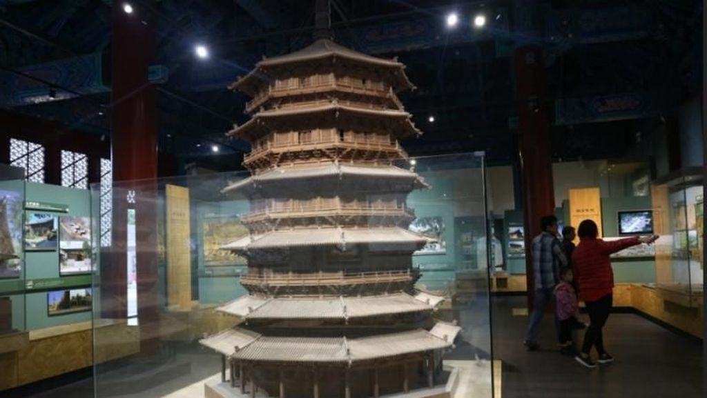 Mengitip Bangunan Kuno di Museum Arsitektur Beijing