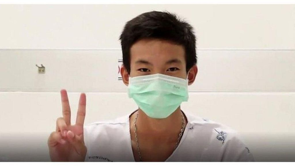 Diselamatkan dari Gua, Remaja Thailand Ungkap Ingin Makan Nasi Goreng