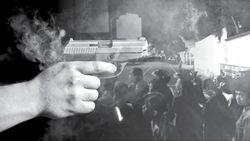 Ngeri! Video Baku Tembak Sekelompok Orang di Rusia