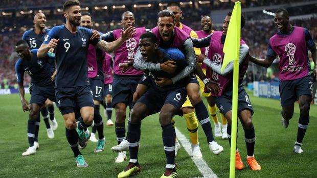 Orang tua Patrick tidak tertarik menyaksikan Piala Dunia 2018 yang dimenangi Pogba serta timnas Prancis.