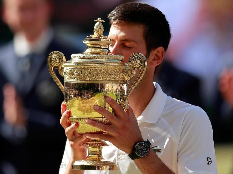 Tumpas Anderson, Djokovic Juara Wimbledon 2018